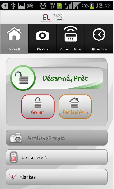 prise de vue application smartphone